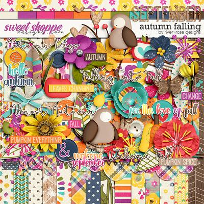 Autumn Falling by River Rose Designs