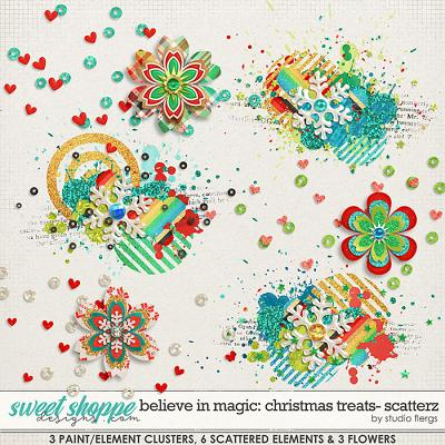 Believe in Magic: Christmas Treats SCATTERZ by Studio Flergs
