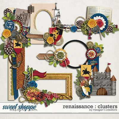 Renaissance : Clusters by Meagan's Creations