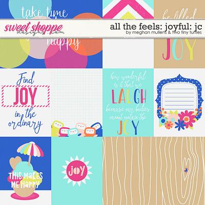 All The Feels: Joyful-Card Pack by Two Tiny Turlles & Meghan Mullens