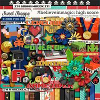 #believeinmagic: High Score by Amber Shaw & Studio Flergs