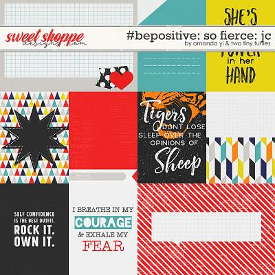 #Be Positive: So Fierce Cards by Amanda Yi & Two Tiny Turtles