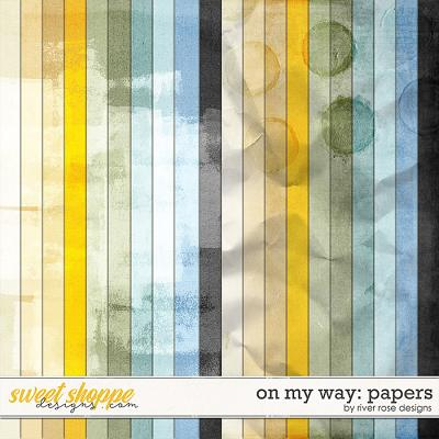 On My Way: Papers by River Rose Designs