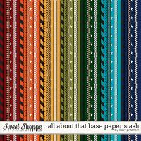 All About That Base Paper Stash by Libby Pritchett