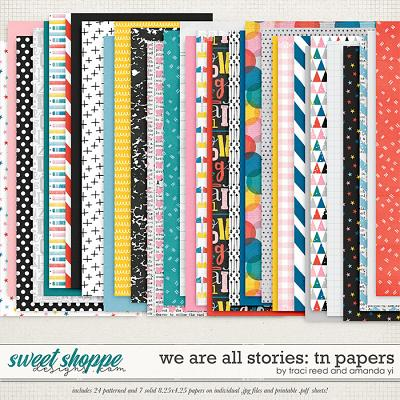 We Are All Stories TN Papers by Traci Reed and Amanda Yi
