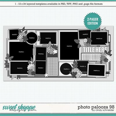 Cindy's Layered Templates - Photo Palooza 98 by Cindy Schneider