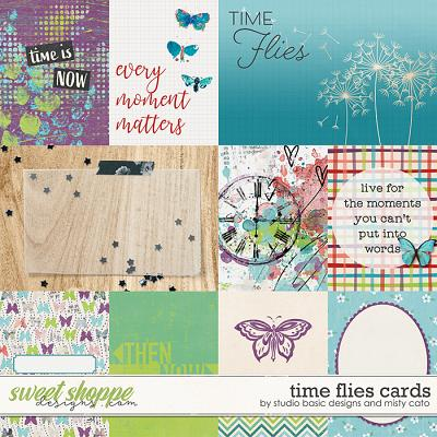 Time Flies Cards by Misty Cato and Studio Basic