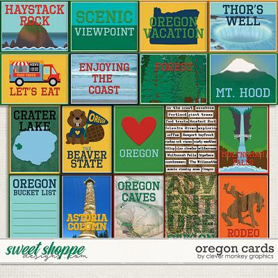 Oregon Cards by Clever Monkey Graphics