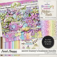 Secret Bunny's Business Bundle by Digilicious Design