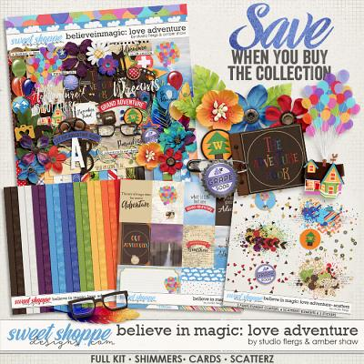 Believe in Magic Love Adventure Collection by Amber Shaw & Studio Flergs