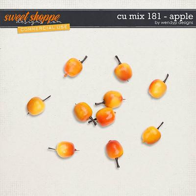 CU Mix 181 - apples by WendyP Designs