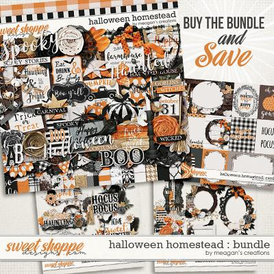 Halloween Homestead: Collection Bundle by Meagan's Creations