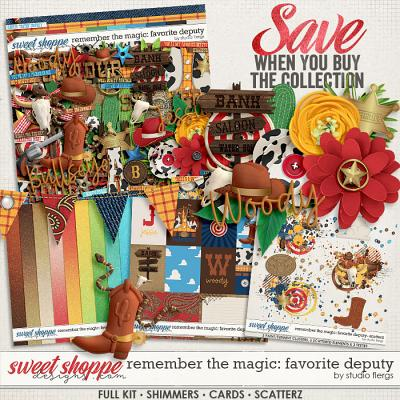 Remember the Magic: FAVORITE DEPUTY- COLLECTION & *FWP* by Studio Flergs