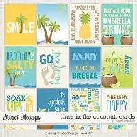 Lime in the Coconut: Cards by Heather Roselli