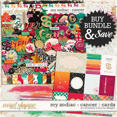 My Zodiac - Cancer : Bundle by Amanda Yi & Juno Designs