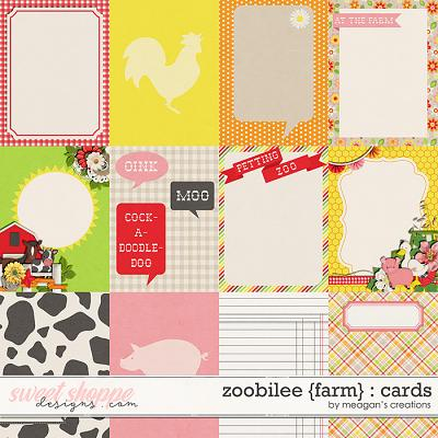 Zoobilee {Farm} : Cards by Meagan's Creations