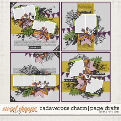 CADAVEROUS CHARM | PAGE DRAFTS by The Nifty Pixel