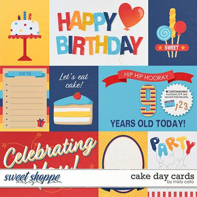 Cake Day Cards by Misty Cato