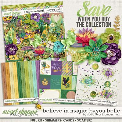 Believe In Magic Bayou Belle: Collection by Amber Shaw & Studio Flergs