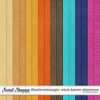 #believeinmagic: Wind Dancer Shimmers by Amber Shaw