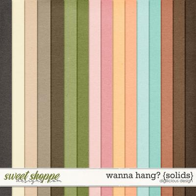 Wanna Hang? {Solids} by Digilicious Design