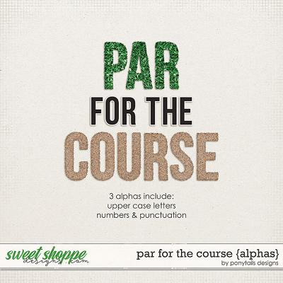 Par for the Course Alphas by Ponytails