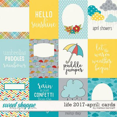 Life 2017-April Cards by Melissa Bennett