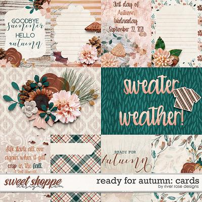 Ready for Autumn: Cards by River Rose Designs
