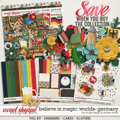 Believe in Magic:  Worlds - Germany Collection by Amber Shaw & Studio Flergs