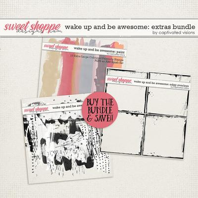 Wake Up and Be Awesome: Extras Bundle by Captivated Visions