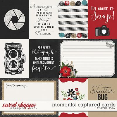 Moments: Captured Cards by Amber Shaw