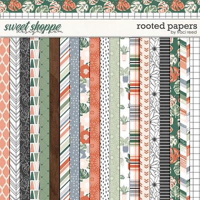 Rooted 12x12 Papers by Traci Reed