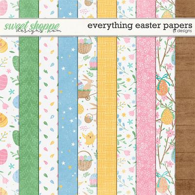 Everything Easter Papers by LJS Designs