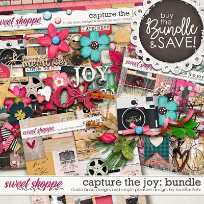 Capture The Joy Bundle by Simple Pleasure Designs and Studio Basic