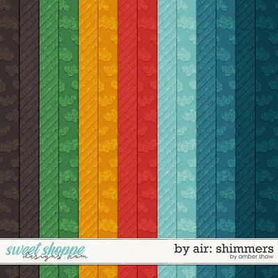 By Air: Shimmers by Amber Shaw