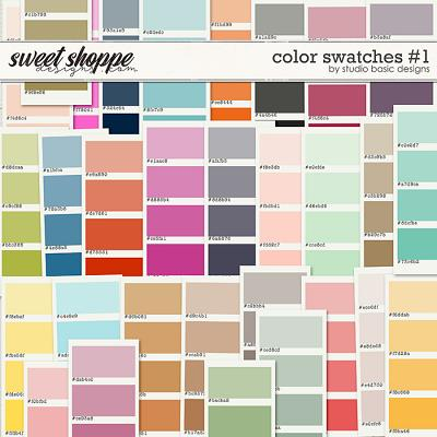 Color Swatches #1 by Studio Basic