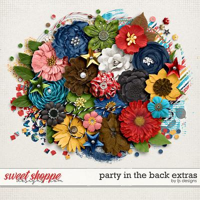 Party In The Back Extras by LJS Designs