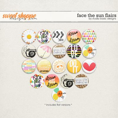 Face The Sun Flairs by Studio Basic