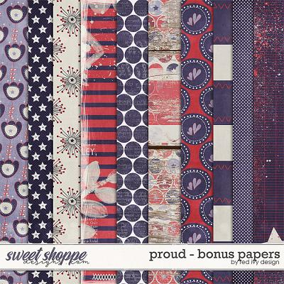 Proud - Bonus Papers by Red Ivy Design