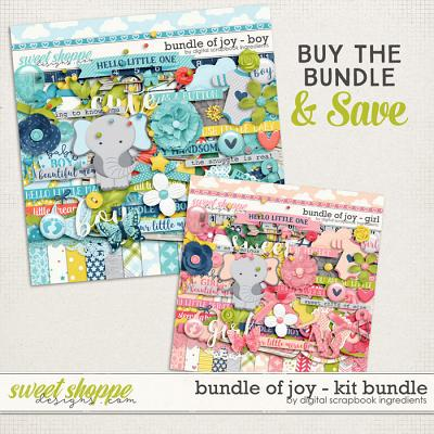 Bundle Of Joy Kit Bundle by Digital Scrapbook Ingredients