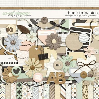 Back To Basics by Digital Scrapbook Ingredients
