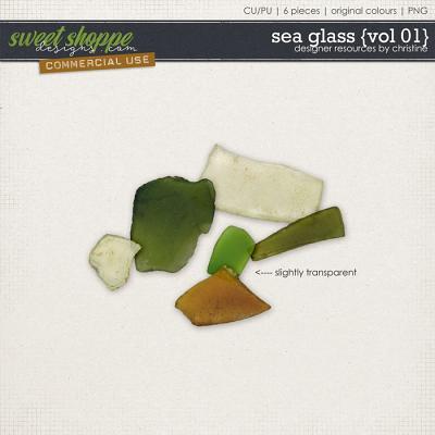 Sea Glass {Vol 01} by Christine Mortimer