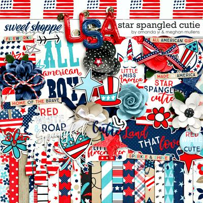 Star Spangled Cutie by Amanda Yi Designs & Meghan Mullens
