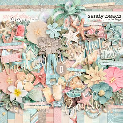 Sandy Beach by Studio Flergs