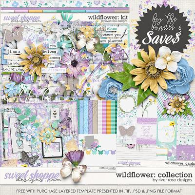 Wildflower: Collection + FWP by River Rose Designs