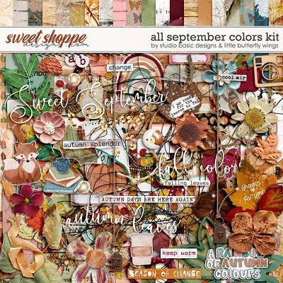 All September Colors Kit by Studio Basic and Little Butterfly Wings