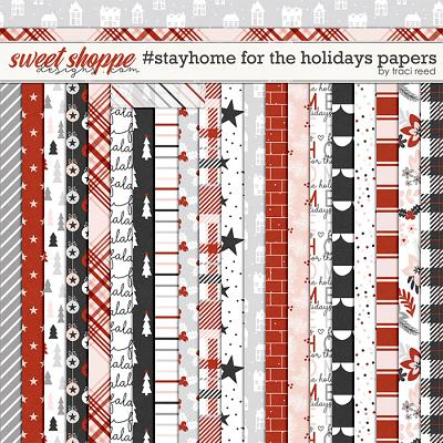 #StayHome for the Holidays: 12x12 Papers by Traci Reed
