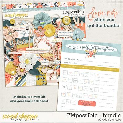 I'Mpossible Bundle by Jady Day Studio