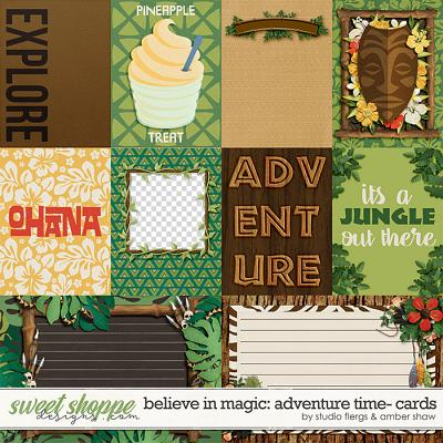 Believe in Magic: Adventure Time Cards by Amber Shaw & Studio Flergs