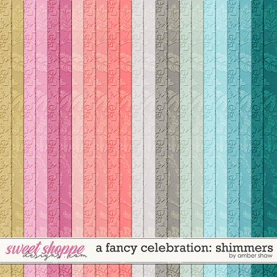 A Fancy Celebration: Shimmers by Amber Shaw